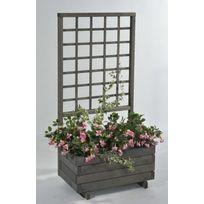 Jardiniere treillage achat jardiniere treillage pas cher soldes rueducommerce - Jardiniere avec treillis ...