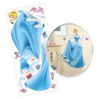 Disney - 12 Stickers, dont 1 géant Xxl Princesses repositionnable - Décoration de chambre