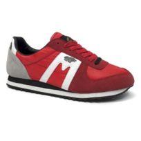 Karhu - Chaussures Fulcrum Star Reissue rouge blanc noir femme