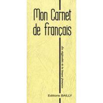 Antoine Bailly - Mon carnet de français