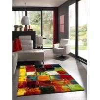 UN AMOUR DE TAPIS - Tapis BELIS 20739 110 Tapis Moderne par Unamourdetapis Multicolore 80 x 150 cm
