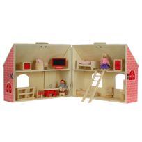 MAISON FUTEE - Maison de poupée en bois 19 pièces