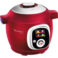 MOULINEX - Multicuiseur COOKEO - CE851500 - Rouge