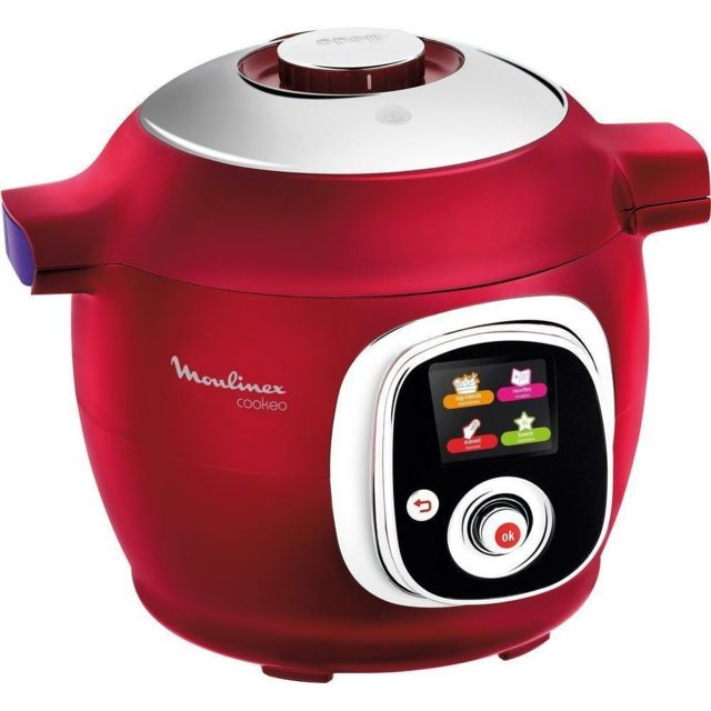 MOULINEX Multicuiseur COOKEO - CE851500 - Rouge