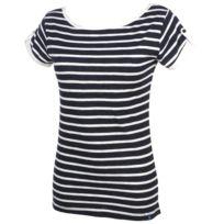 Elegance Oceane - Tee shirt manches courtes Bigue marine tee Bleu 36285