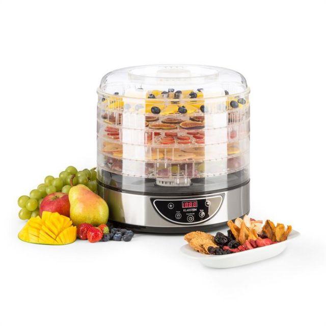 KLARSTEIN Fruitower D Déshydrateur 35-70°C Minuteur 5 étages 200-240W