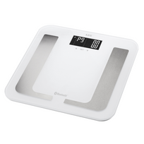 Aeg - Pèse-personne de diagnostic avec Bluetooth Pw 5653 Bt Blanc
