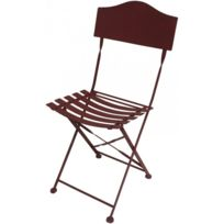 Chaise bistrot metal achat chaise bistrot metal pas cher for Chaise bistrot solde
