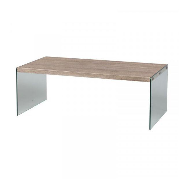 Dansmamaison Table basse rectangulaire - Cisco - L 112 x l 56 x H 40 cm