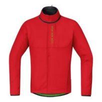 Gore - Veste Bike Wear Power Trail Windstopper Soft Shell Thermo rouge