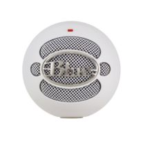 BLUE MICROPHONE - Microphone Snowball White USB