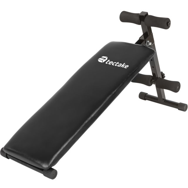 Banc de musculation pliable abdominaux et dorsaux, appareil de fitness sport pliable