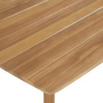Meubles de jardin edition Bucarest Icaverne Table de bar Bois d\'acacia  solide 60 x 60 x 105 cm