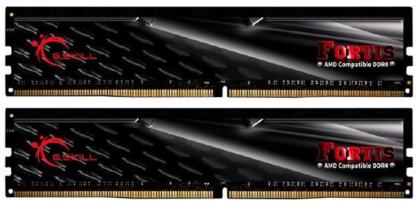 G.SKILL FORTIS 2 x 16 Go DDR4 2400 Mhz PC4-19200 1.2V For AMD Ryzen FORTIS 2 x 16 Go DDR4 2400 Mhz PC4-19200 1.2V (For AMD Ryzen)