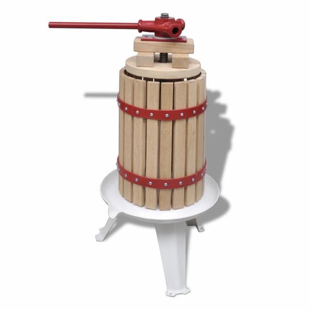 Vidaxl Presse à fruits et vin 6 L