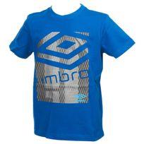 Umbro - Tee shirt manches courtes Teck bleu mc tee jr Bleu 51226