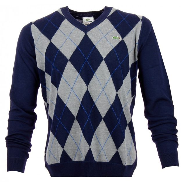 Lacoste - Pull - Ah3363-00WSE - pas cher