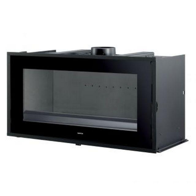 supra insert bois 10kw noir neo100 pas cher achat. Black Bedroom Furniture Sets. Home Design Ideas
