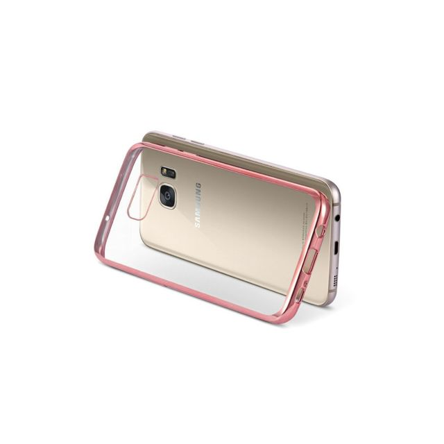 coque galaxy s7 rose gold