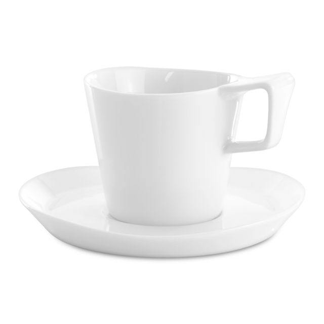 Berghoff 2 x tasse et sous-tasse à café - Eclipse
