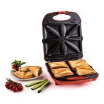 KLARSTEIN - Trinity Sandwich Maker 3-en-1 Xxl 1300 W -rouge