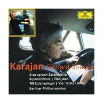 Deutsche Grammophon - Richard Straus : Ainsi parlait Zarathoustra - Symphonie Alpestre - Till l'Espiègle - Quatre derniers lieder