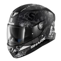 954d08f2523 Shark - casque moto intégral SKWAL 2 NUKHEM KAW noir anthracite blanc  brillant