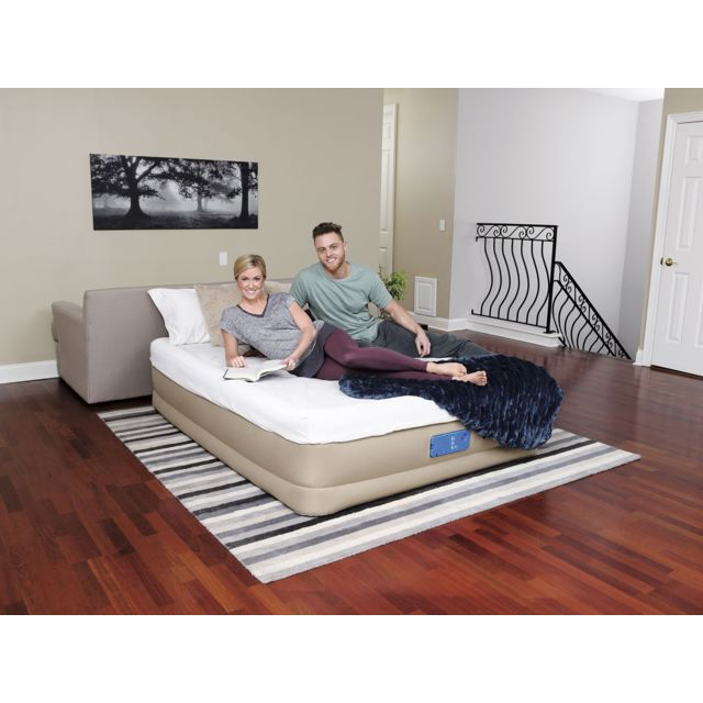 bestway matelas gonflable lectrique alwayzaire queen. Black Bedroom Furniture Sets. Home Design Ideas