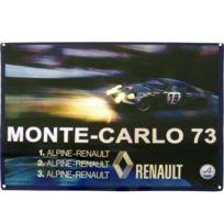 Alpine - Grande Plaque métal A 110 Renault