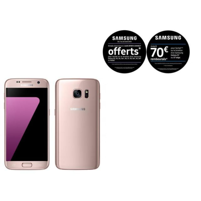 Samsung - Galaxy S7 - Rose