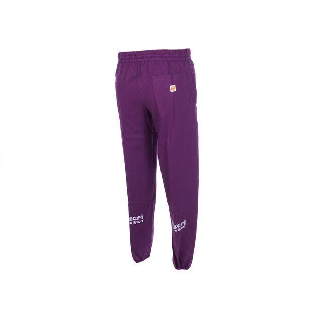 Panzeri - Pantalon de survêtement Uni h violet jersey pant Violet 60886