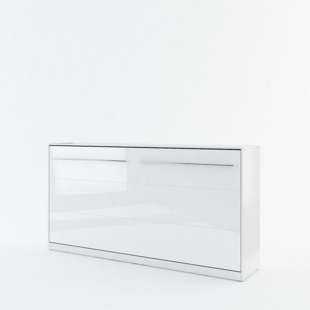 Openbed Lit escamotable Horizontal KLAP, Blanc 140x200cm