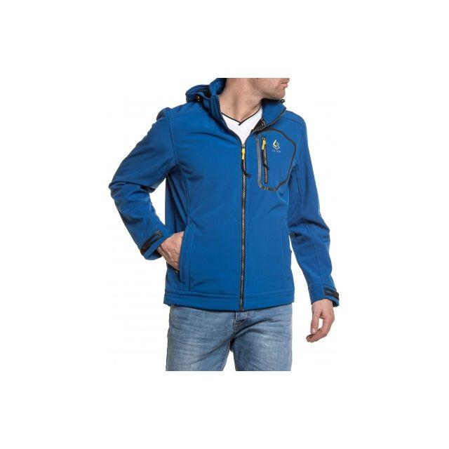 pas Legenders royal capuche Blouson bleu Achat zippé à cher rHHx1YWURn