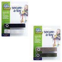 Baby Buddy - Secure-a-toy Sangles De Fixation Pour Jouets Multicolore 6-36 Mois