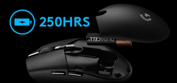 Souris gamer G305 Lightspeed - Noir