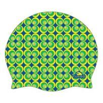 Turbo - Bonnet en silicone Flower 70 jaune vert