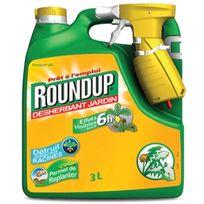 Roundup - désherbant 6h pulvérisateur intégré 3l - 6h3b