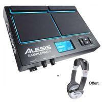 Alesis - Pack Sample Pad 4 - 4 Zones + lecteur de samples + Casque offert