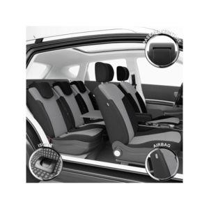 dbs housse si ges voiture sur mesure renault scenic 2 03 2003 03 2009 pas cher achat. Black Bedroom Furniture Sets. Home Design Ideas