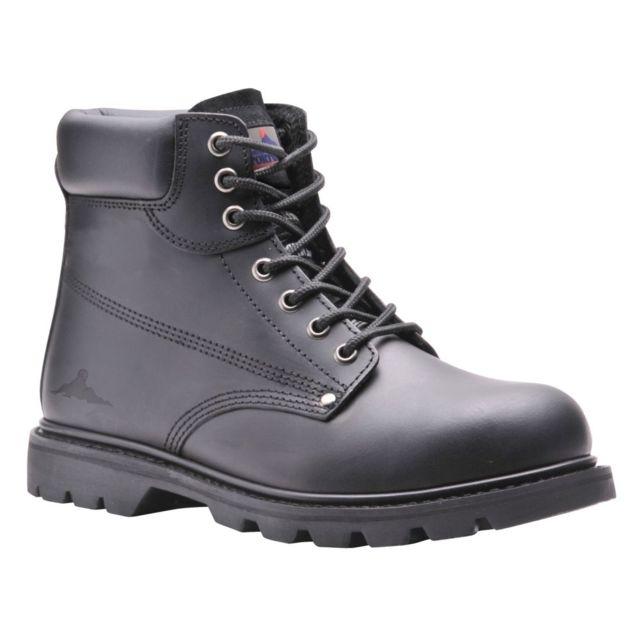 de sécurité Hro Brodequin cousu Goodyear Chaussures Sbp xedoBC