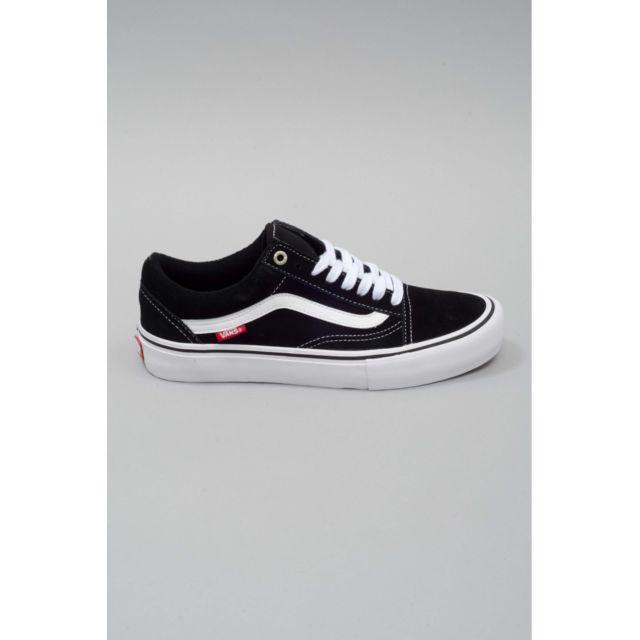 Vans - Chaussures skateshoes Homme Old Skool Pro - pas cher Achat   Vente  Baskets homme - RueDuCommerce 3b2eb25726a