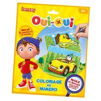 Lansay - Kit créatif Oui-Oui : Coloriage au numéro