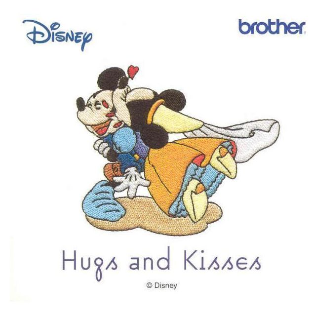BROTHER carte D12 Disney Hugs and Kisses