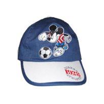 Disney - Casquette Mickey Foot Bleue