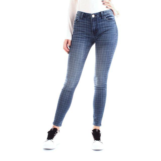 Fracomina Femme Fr19FMJDESDEMON2DENIM Bleu Coton Jeans