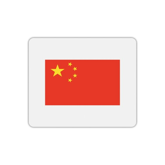 Drapeau De Chine mygoodprice - tapis de souris rectangle imprimé drapeau chine - pas