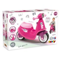 SMOBY - PORTEUR SCOOTER ROSE - 721002