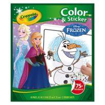 Crayola - La Reine des Neiges - Album coloriage et autocollants La Reine des Neiges