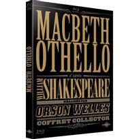 Carlotta - Macbeth & Othello d'après William Shakespeare réalisés par Orson Welles Blu-Ray