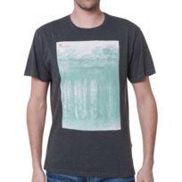Loreak Mendian - Tee-Shirt Gris Homme Col Rond